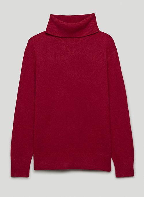 LUXE CASHMERE FINO TURTLENECK - Cashmere turtleneck sweater