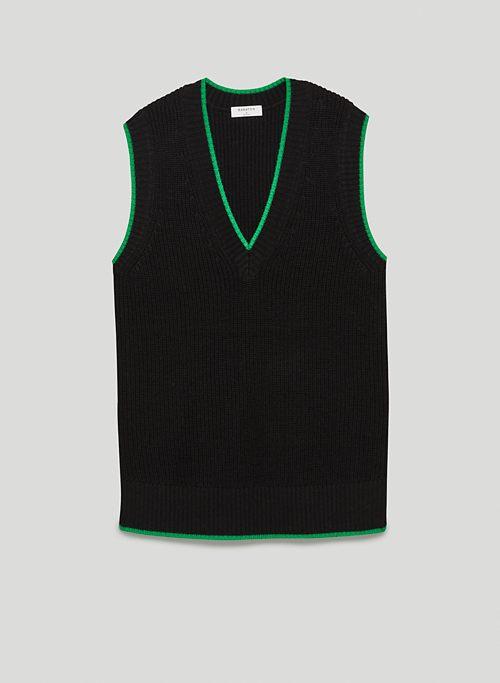 SHERMAN VEST - V-neck sweater vest
