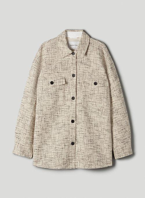 JOAN SHIRT JACKET - Tweed shirt jacket