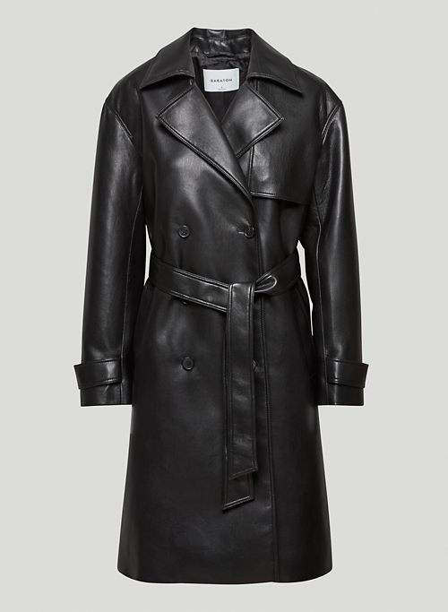 TABLOID TRENCH COAT