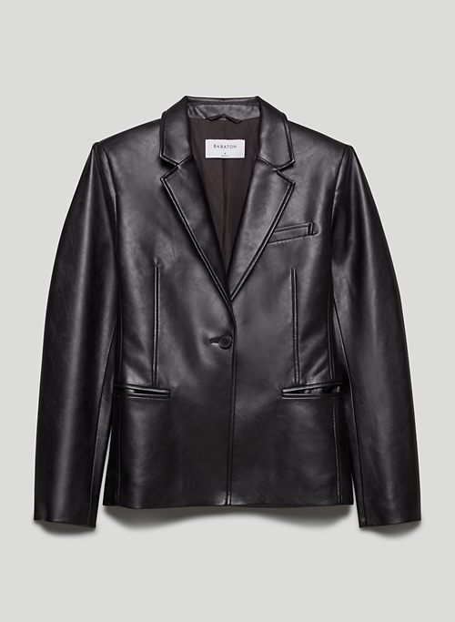 PRESS BLAZER - Vegan Leather blazer