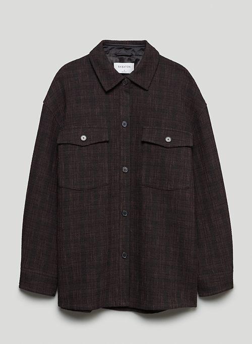 JOAN SHIRT JACKET - Button-up shacket