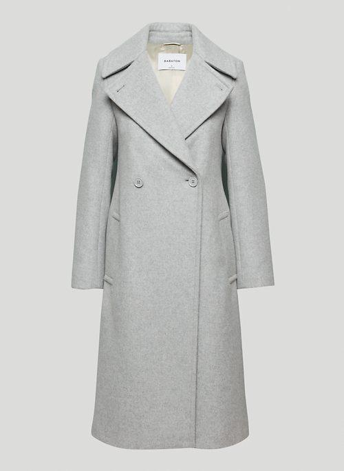 BENTON WOOL COAT - Long, A-line wool dress coat
