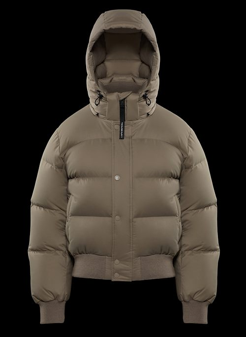 THE SUPER PUFF™ BOMBER - Goose-down bomber puffer jacket
