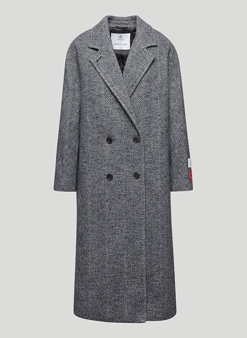 THE SLOUCH - Oversized, double-breasted wool coat