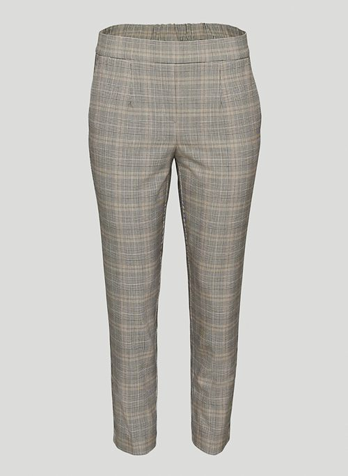 CONAN PANT - Plaid dress pant