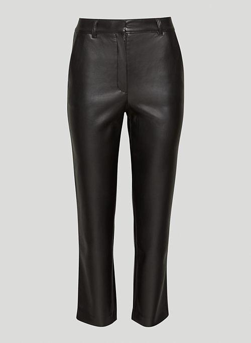 COMMAND PANT - Vegan leather pants