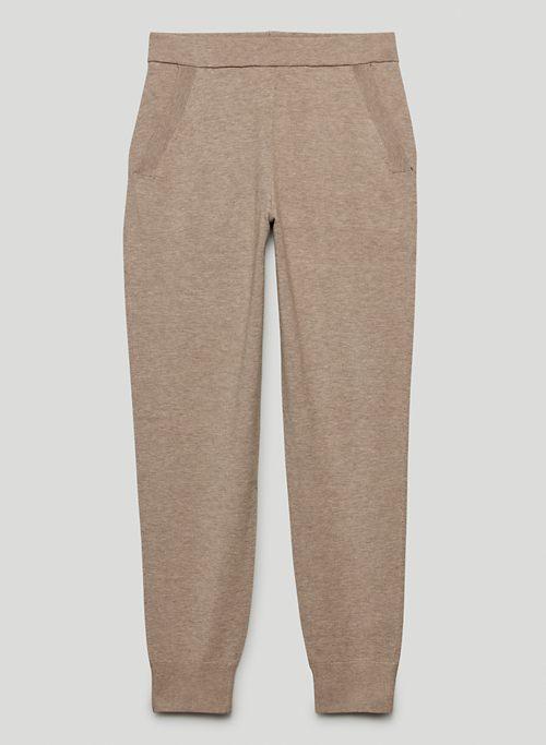 RODIN JOGGER - High-waisted knit joggers
