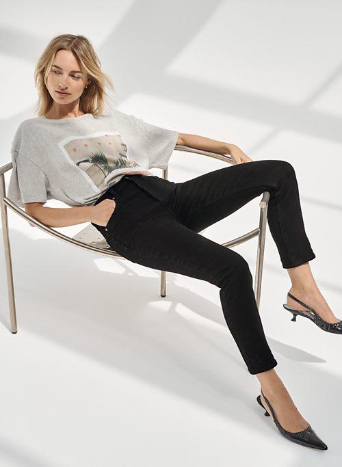 THE YOKO HIGH RISE SLIM 28L - High-waisted slim jeans