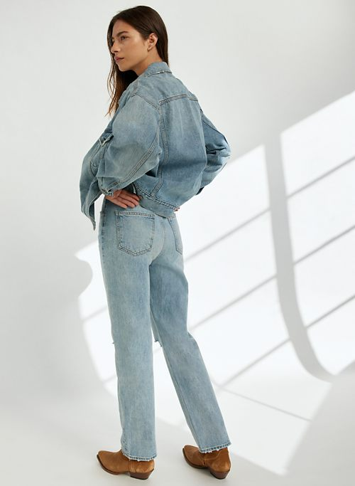 THE JONI HIGH RISE LOOSE 29L - Super high-waisted, loose jeans