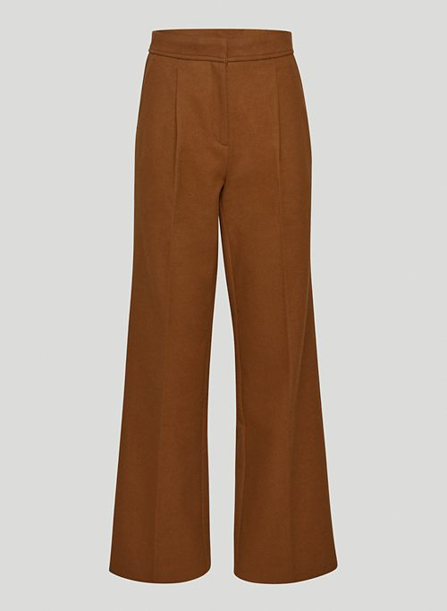 ESQUIRE PANT - Mid-rise pleated pants