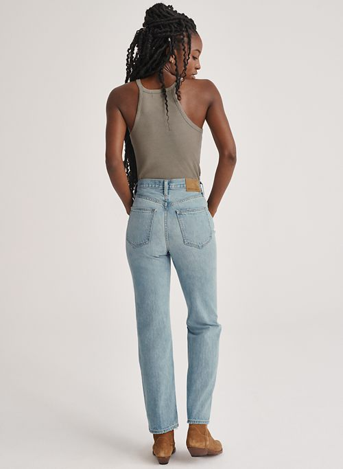 THE JONI HIGH RISE LOOSE 29L - High-waisted, loose jeans