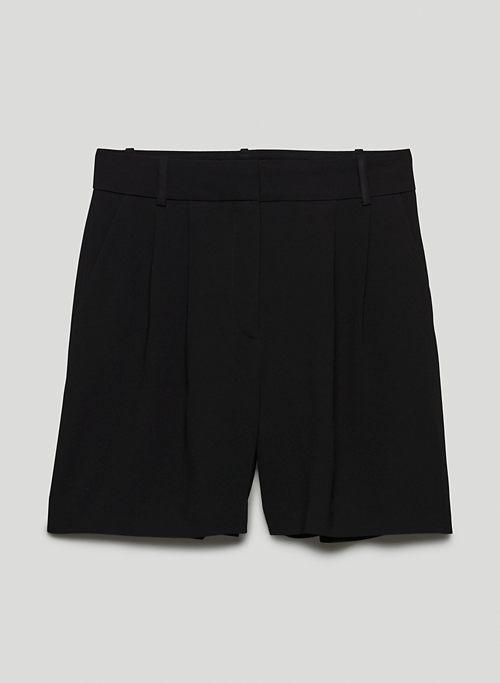 KENNEDY SHORT - High-waisted, pleated shorts