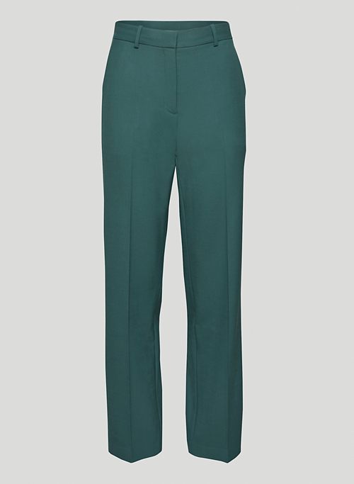 AGENCY PANT - High-waisted wool trousers