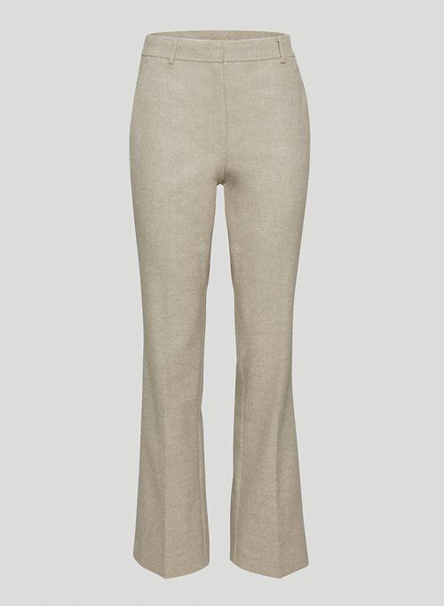 GAZETTE PANT - Mid-rise, flare pants