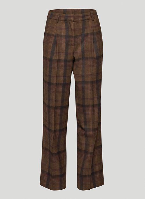 NIGHTSCAPE PANT - Mid-rise pleated pants