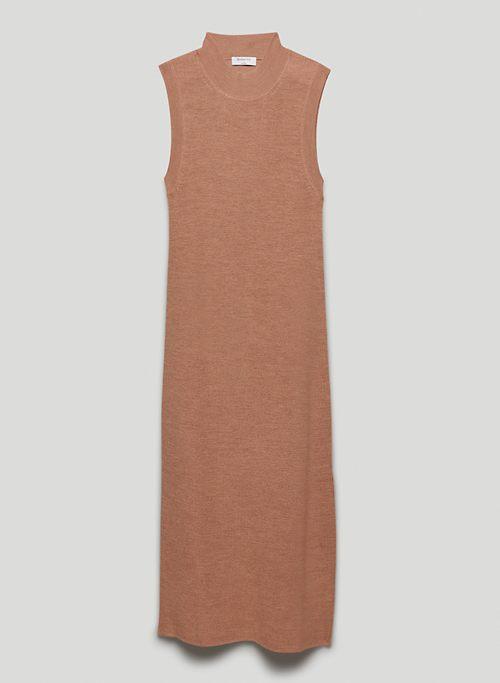 AESTHETICA DRESS - Sleeveless mock-neck sweater dress