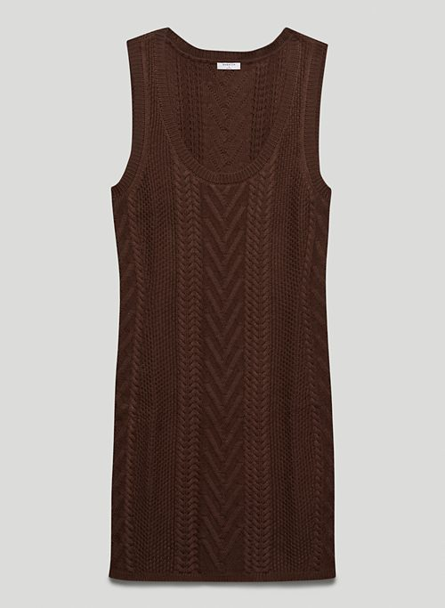 OVERLAND DRESS - Knit sweater dress
