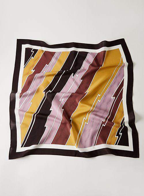 SILK SQUARE SCARF - Square silk scarf