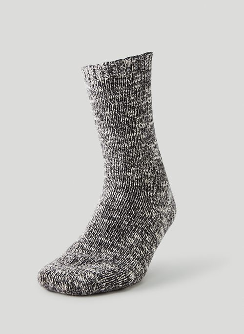 COZY CREW SOCK - Cotton-wool crew sock