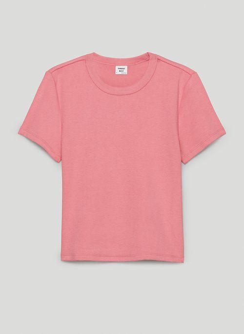 LITTLE RIBBED T-SHIRT - Ribbed t-shirt