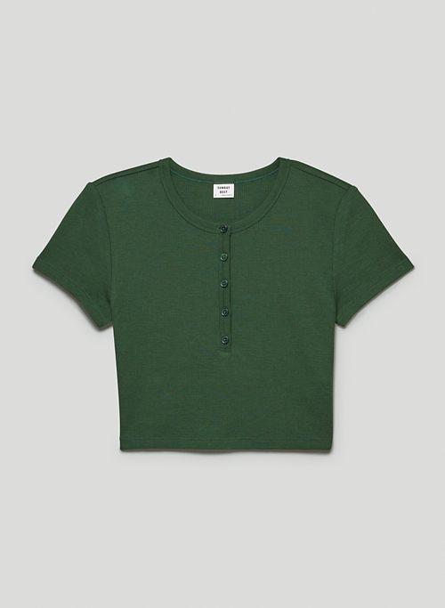 ROSEBANK T-SHIRT - Thermal henley baby t-shirt
