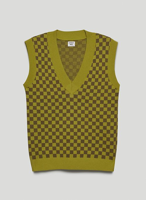 WINSTON SWEATER VEST - V-neck sweater vest