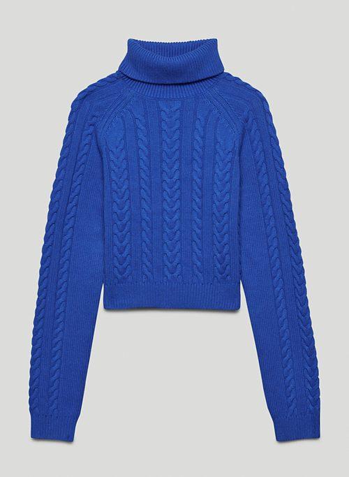 JONES SWEATER - Chunky turtleneck sweater