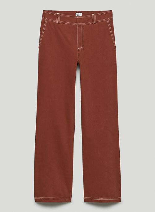 LEXI PANT - Mid-rise utility pants