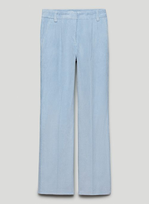 HARVEY PANT - Mid-rise corduroy pants