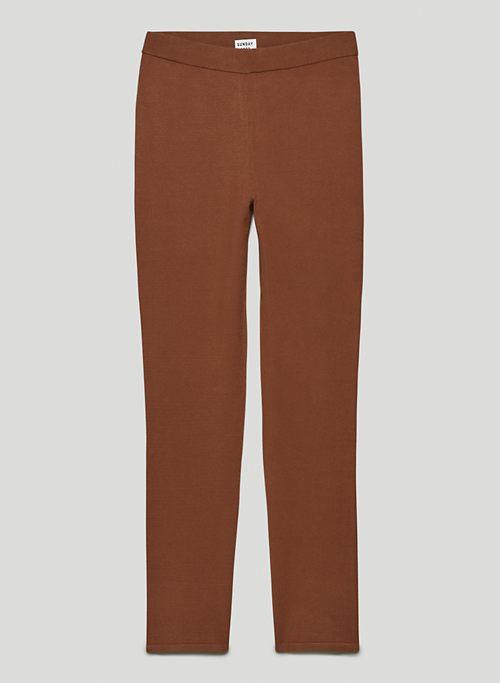 ELLIE PANT - High-waisted knit pants