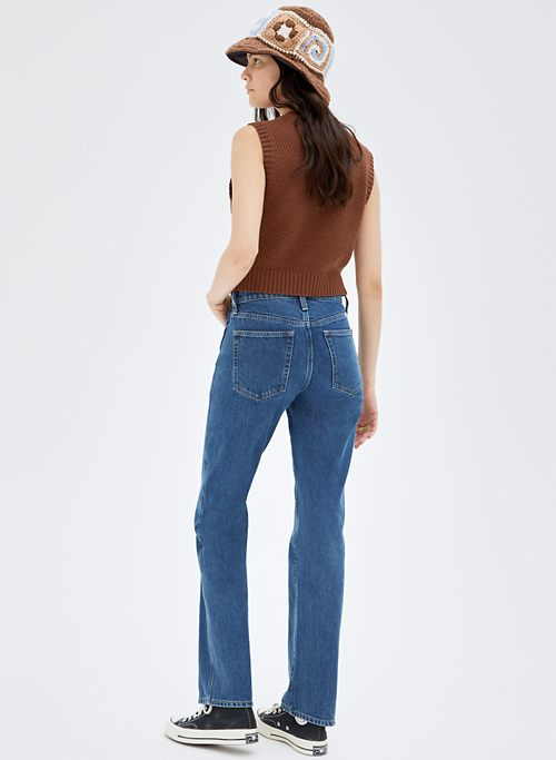 ZIGGY MID BOOT - Mid-rise, boot-cut jeans