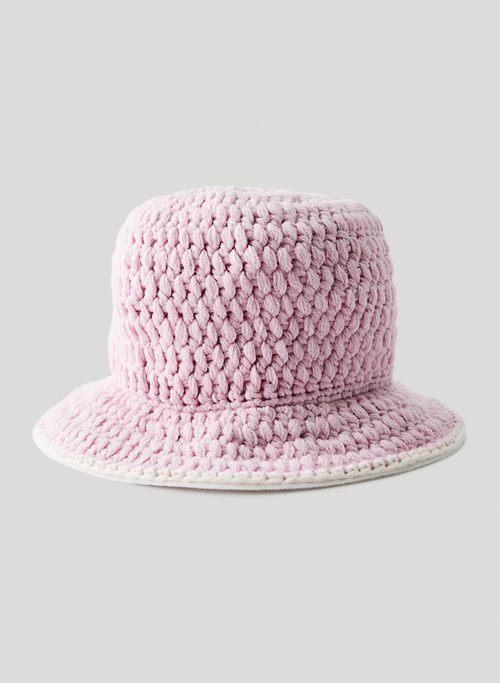 THEODORE BUCKET HAT - Crocheted bucket hat