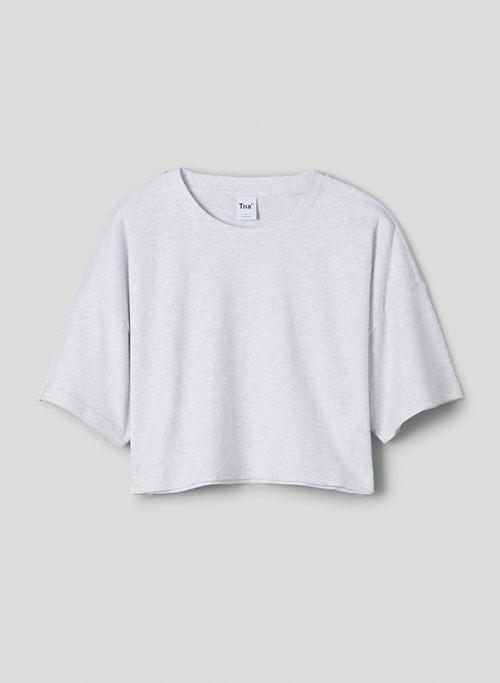 LAID BACK T-SHIRT - Boxy, cropped t-shirt