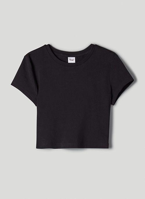 ORTIZ T-SHIRT - Cropped, crew-neck t-shirt
