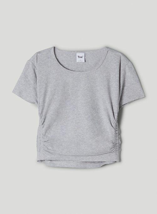 TNACHILL™ MALIBU T-SHIRT - Ruched, cropped t-shirt