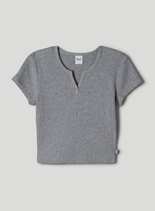 THERMAL NOTCH T-SHIRT - Notched thermal t-shirt
