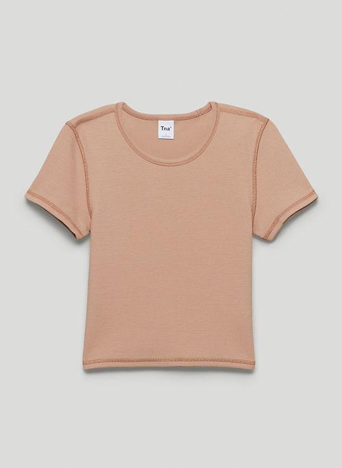 VIRTUE T-SHIRT - Shrunken crew-neck t-shirt