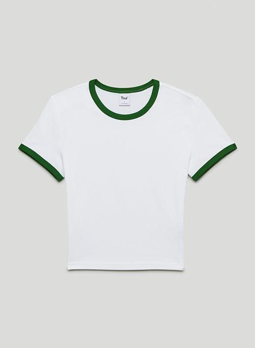 ORTIZ LONG T-SHIRT - Crew-neck ringer t-shirt