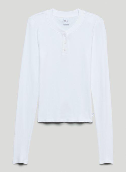 MORTIMER LONGSLEEVE - Long-sleeve henley shirt