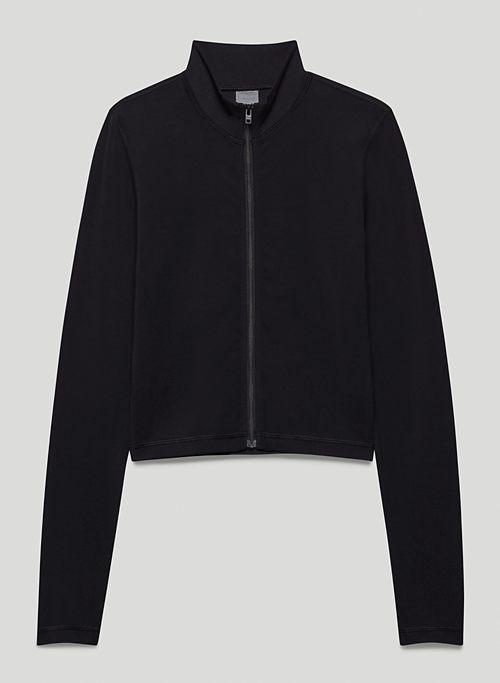 TNABUTTER™ LIMIT ZIP-UP - Mock-neck, zip-up jacket