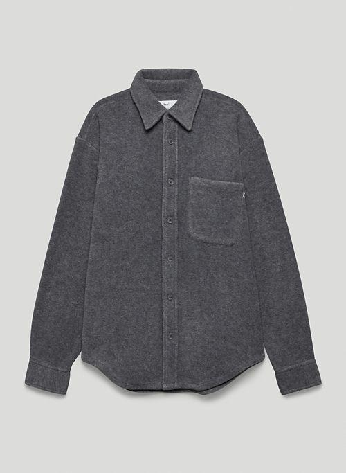 POLAR BUTTON-UP - Button-up micro fleece shirt
