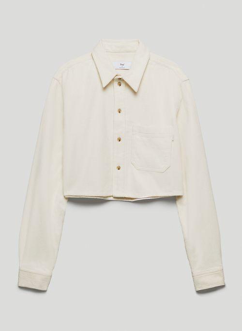 UNION BLOUSE - Corduroy button-up shirt