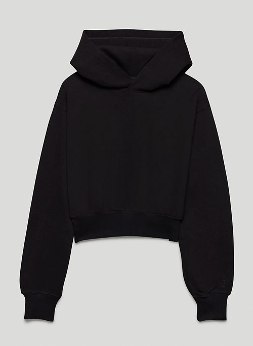 COZY FLEECE PERFECT SHRUNKEN HOODIE - Cropped hoodie