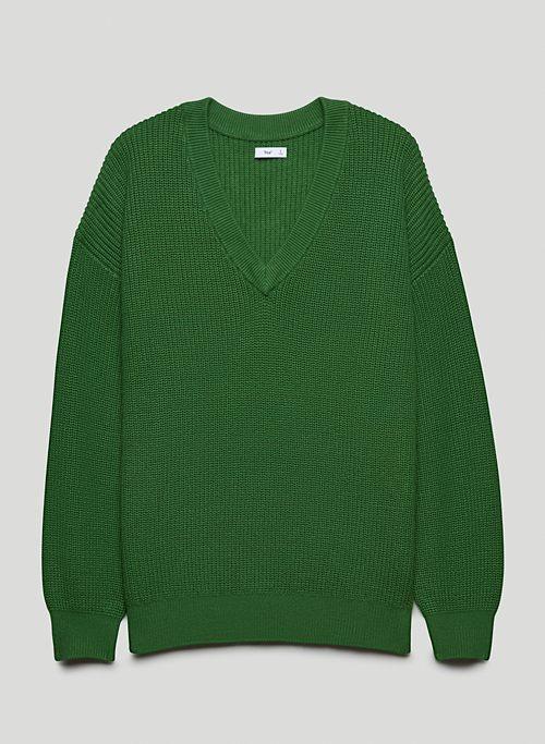 BEACON SWEATER - Knit, V-neck sweater