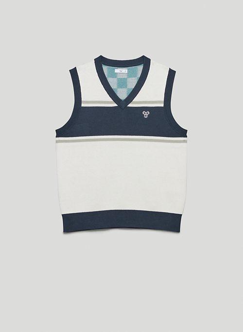 MOORE VEST - V-neck sweater vest