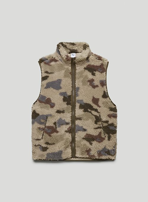 FREEMAN VEST - Recycled fleece sweater vest