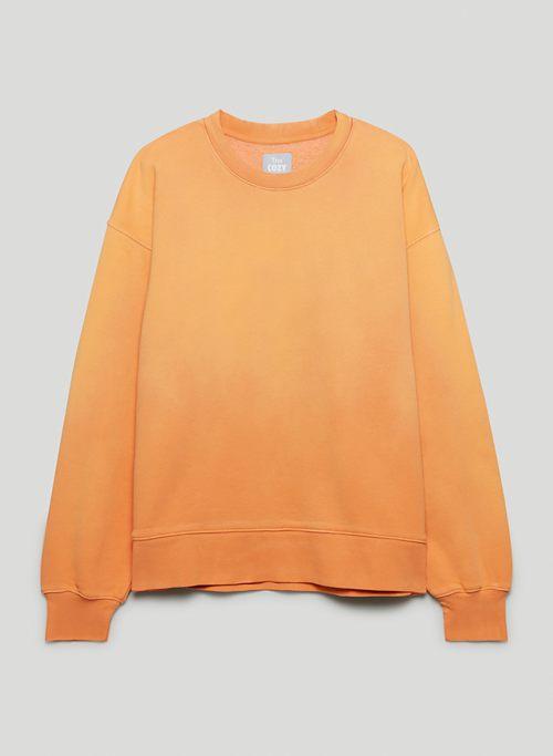 COZY FLEECE BOYFRIEND CREW SWEATSHIRT - Crew-neck sweatshirt