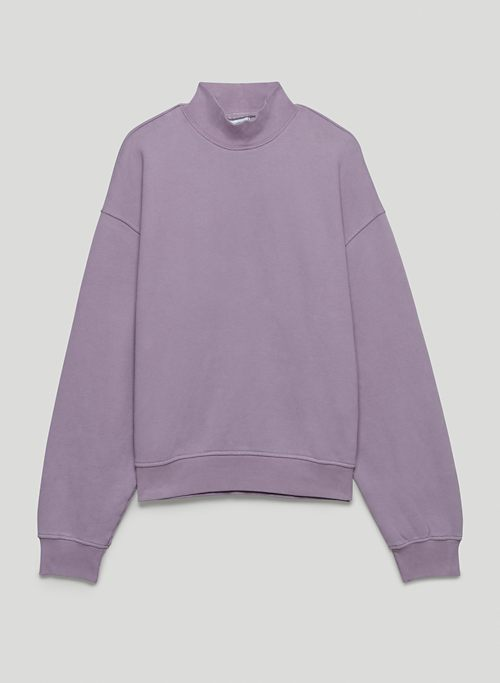 COZY FLEECE MEGA MOCKNECK - Mock neck sweatshirt
