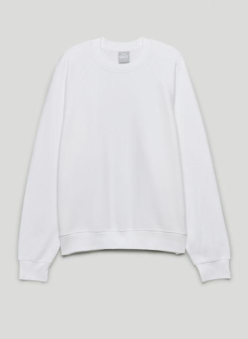 COZY FLEECE MEGA CREW SWEATSHIRT - Oversized, crew-neck sweatshirt